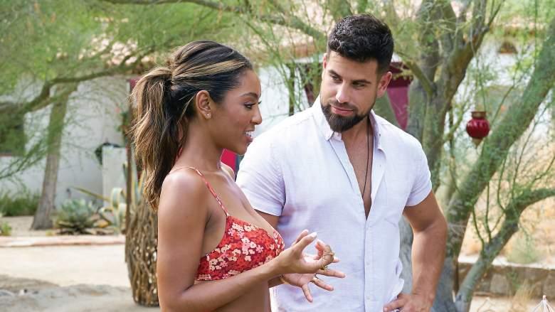 Tayshia Adams and Blake Moynes