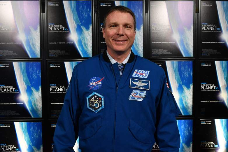 Commander Terry Virts appears on the red carpet at the IMAX Premiere of The Film A BEAUTIFUL PLANET at the National Air and Space Museum IMAX Theater on April 22, 2016